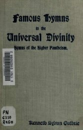 Hymns to the Universal Divinity - College of Stoic Philosophers