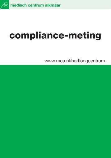 compliance-meting - Mca