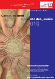 Chapitre 2 : Etat de santé - La Province de Hainaut