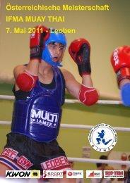 2011 ÖM Muay Thai - ÖBFK