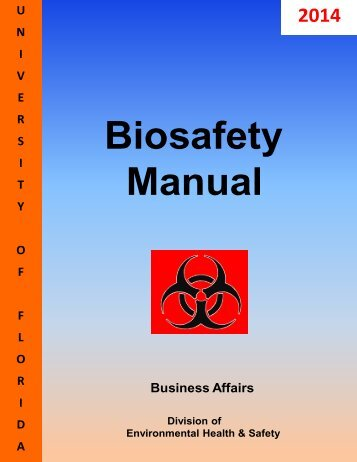 Laboratory Safety Manual  Wilfrid Laurier University