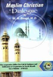 Muslim Christian Dialogue - Islamicbook.ws