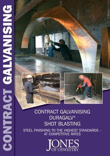 to download the Contract Galvanising PDF - Jones Of Oswestry