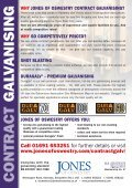 to download the Contract Galvanising PDF - Jones Of Oswestry - Page 2