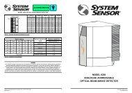 model 6200 analogue addressable optical beam ... - Cerber.pro