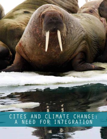 CITES and ClImaTE ChangE - Animal Welfare Institute