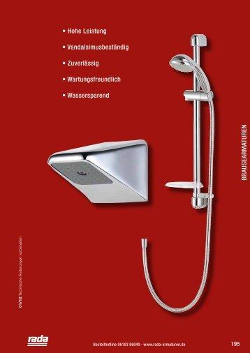Brausearmaturen - Rada Armaturen GmbH