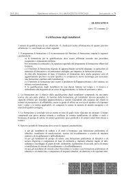 ALLEGATO 4 (art. 15, comma 2) Certificazione degli ... - Unmig