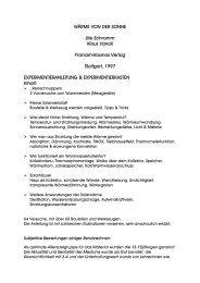 WÄRME VON DER SONNE Ute Schramm Klaus Vanoli Franckh ...