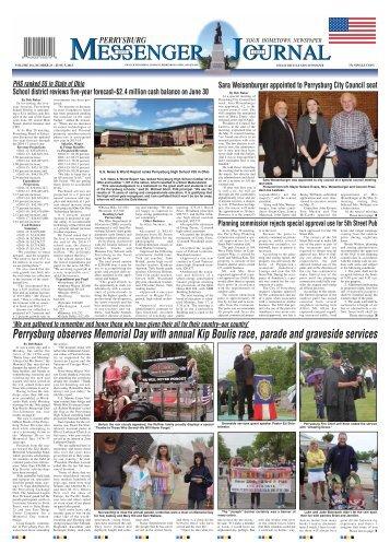 June 5, 2013 PDF Edition of the Perrysburg Messenger Journal