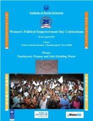 Women's Political Empowerment Day Celebrations 25-26 April 2011 ...