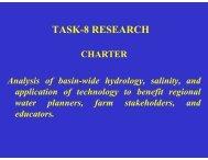 TASK-8 RESEARCH - 2013 Rio Grande Basin Initiative Meeting