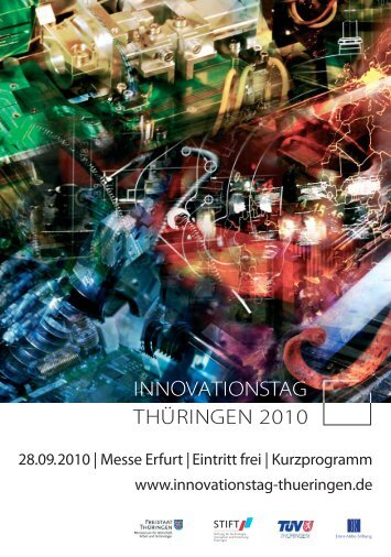 INNOVATIONSTAG - Innovationspreis-Thüringen