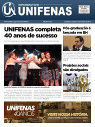 Informativo - Edição 150 - setembro a novembro/2012 - Unifenas