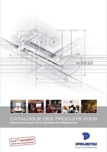 CATALOGUE DES PRODUITS 2009 - GALMAR SA