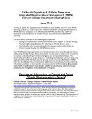 Climate Change Document Clearinghouse June - California ...