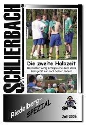 2006 Die zweite Halbzeit - FSV Schlierbach