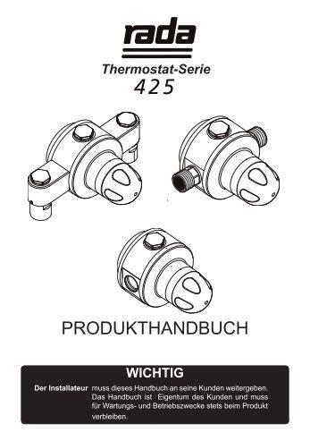 packungsinhalt - Rada  Armaturen GmbH