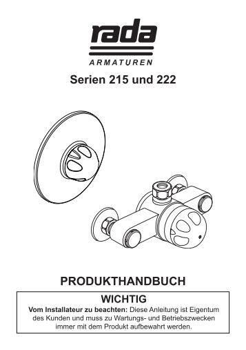 wichtig - Rada Armaturen GmbH