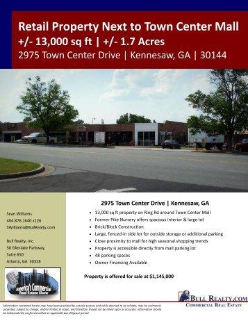 2975 Town Center Dr Flyer - Bull Realty
