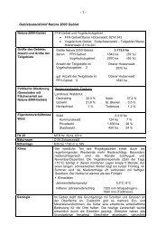 - 1 - Gebietssteckbrief Natura 2000 Gebiet - Hotzenwald LIFE