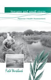 Streams and Small Rivers Workbook (Green) - Prairie Conservation ...