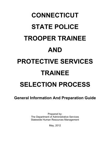 Trooper Trainee Practice Test (PDF)