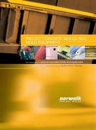Precast Concrete Molds and Mold Equipment Folder PDF - Norweco