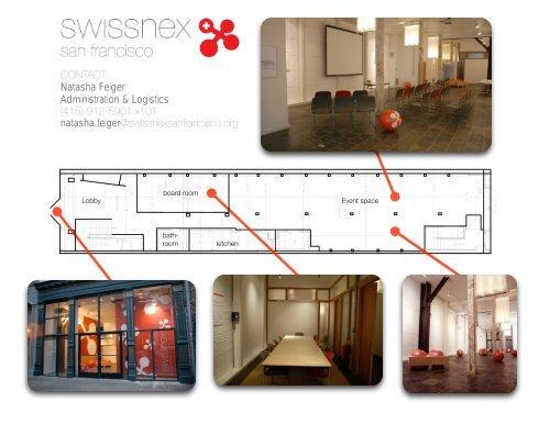 Natasha Feiger Administration & Logistics - swissnex San Francisco