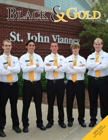Fall 2012 - St. John Vianney High School