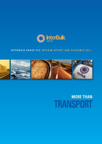 TRANSPORT - InterBulk group