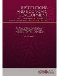 nX X - Economic Research Forum