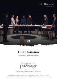 Guantanamo Frank Smith - Théâtre du Passage