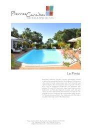 La Pinta - Pierres Caraibes
