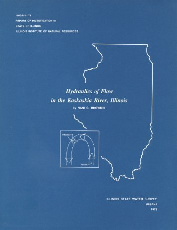 Hydraulics of Flow in the Kaskaskia River, Illinois - Illinois State ...