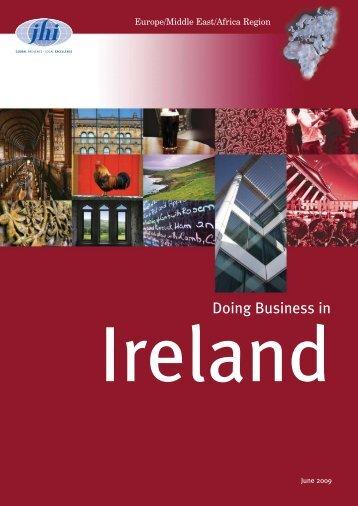 Doing Business in Ireland - JHI