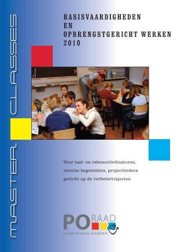 Brochure Masterclasses 2010_Opmaak 1 - Deelnameregistratie