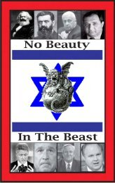Glenn – No Beauty In The Beast – Israel Without Her Mascara