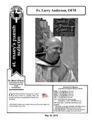Fr. Larry Anderson, OFM - Holy Name Province
