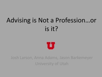 download presentation (.pdf) - Utah State University