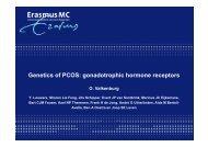 gonadotrophic hormone receptors - eshre