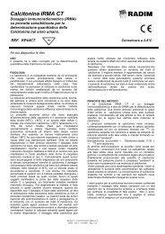 Calcitonina IRMA CT - Radim S.p.A.