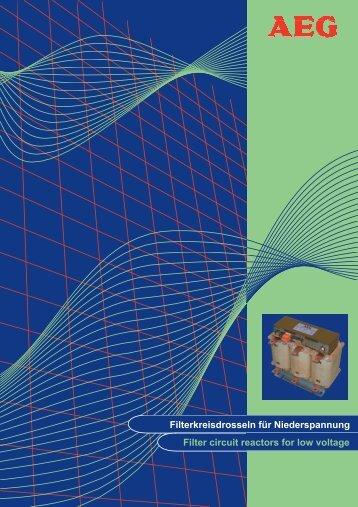Filter Circuit Reactors - AEG Industrial Engineering