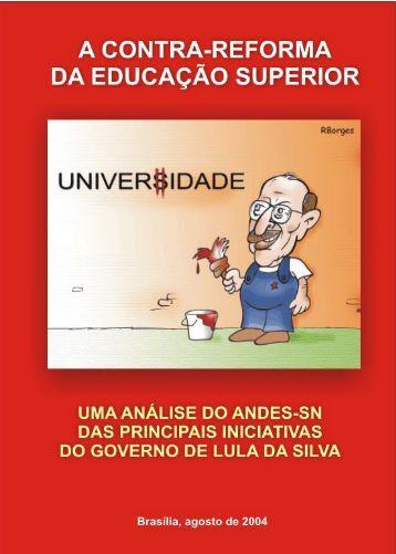 A contra-reforma da educação superior - Fedepsp.org.br