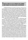 A contra-reforma da educação superior - Fedepsp.org.br - Page 6