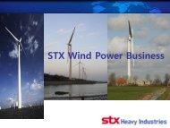 STX Wind Power Business - bbnworld.net