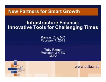Rittner - New Partners for Smart Growth Conference