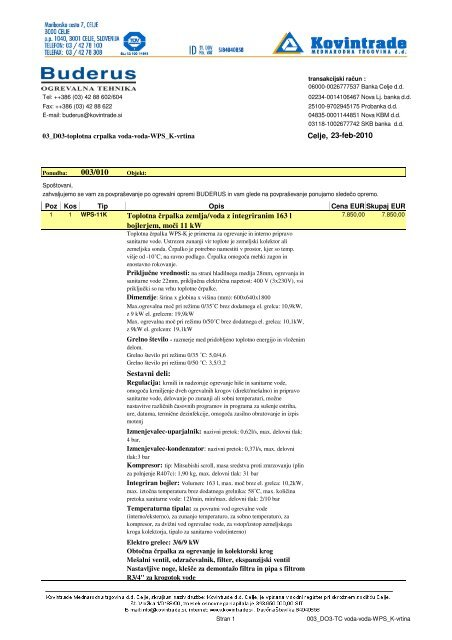 PDF popis D03 - Buderus