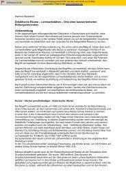 Didaktische Räume – Lernwerkstätten – Orte einer basisorientierten ...