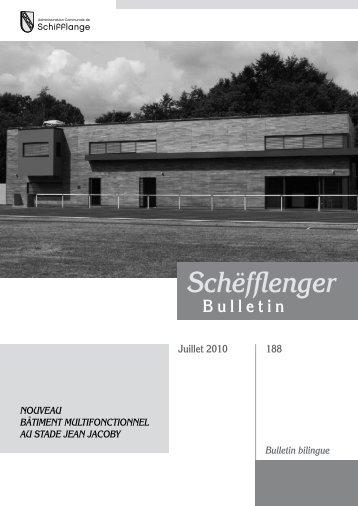 Bulletin 188 en Pdf - Schifflange.lu